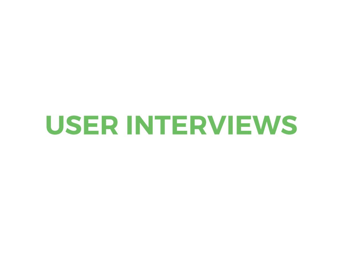 User Interviews logo