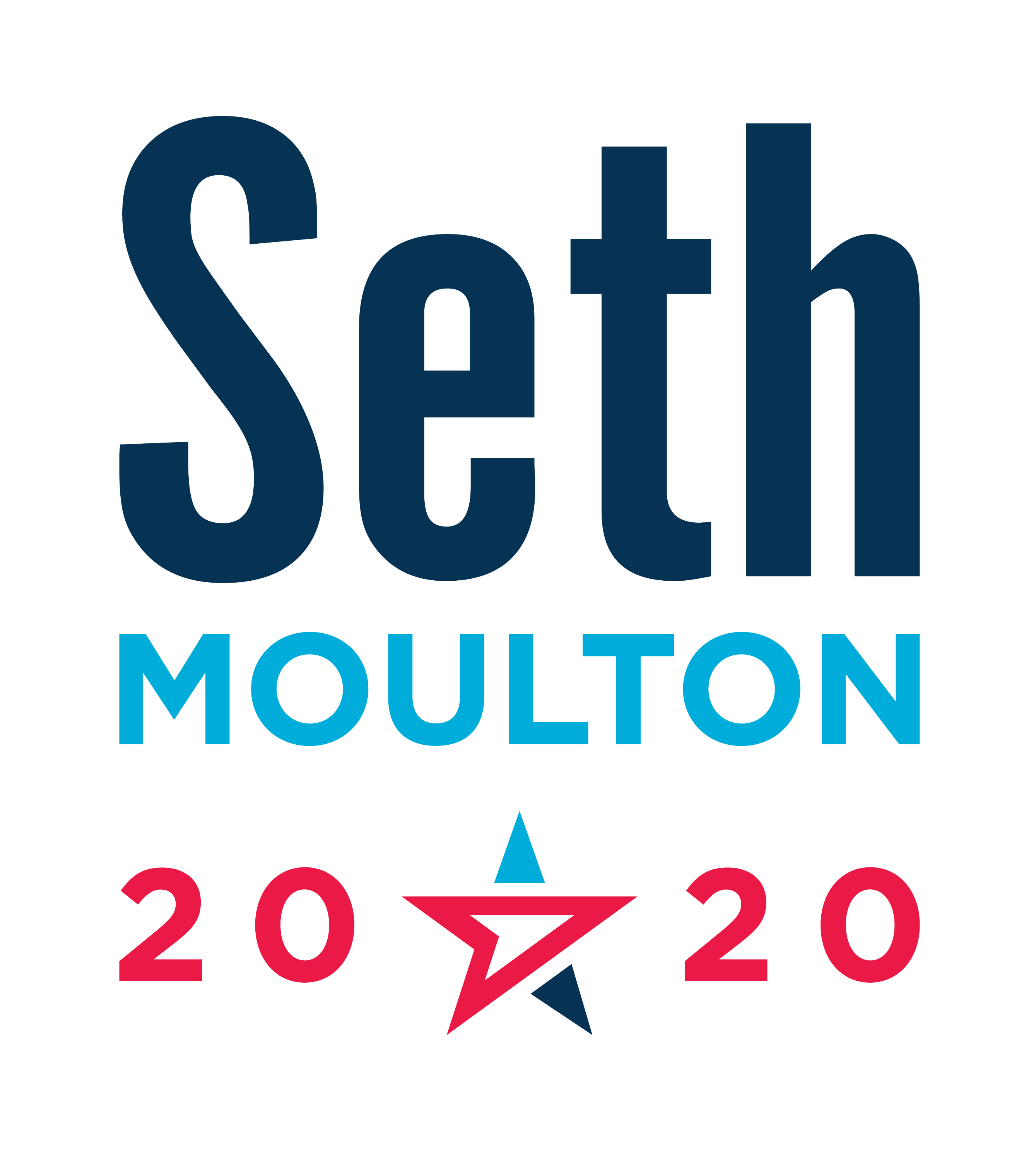 Seth Moulton for America Inc. logo