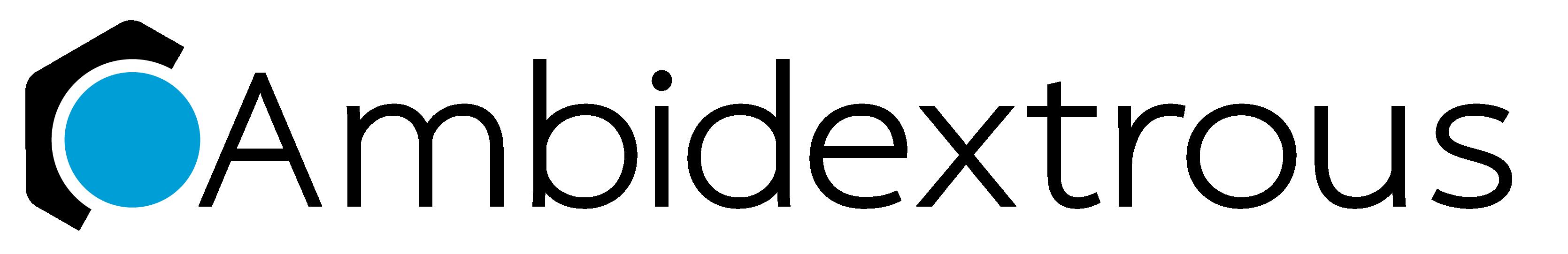 Ambidextrous logo