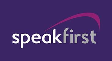 Speak First logo