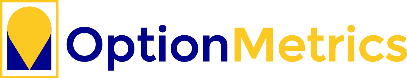 OptionMetrics logo