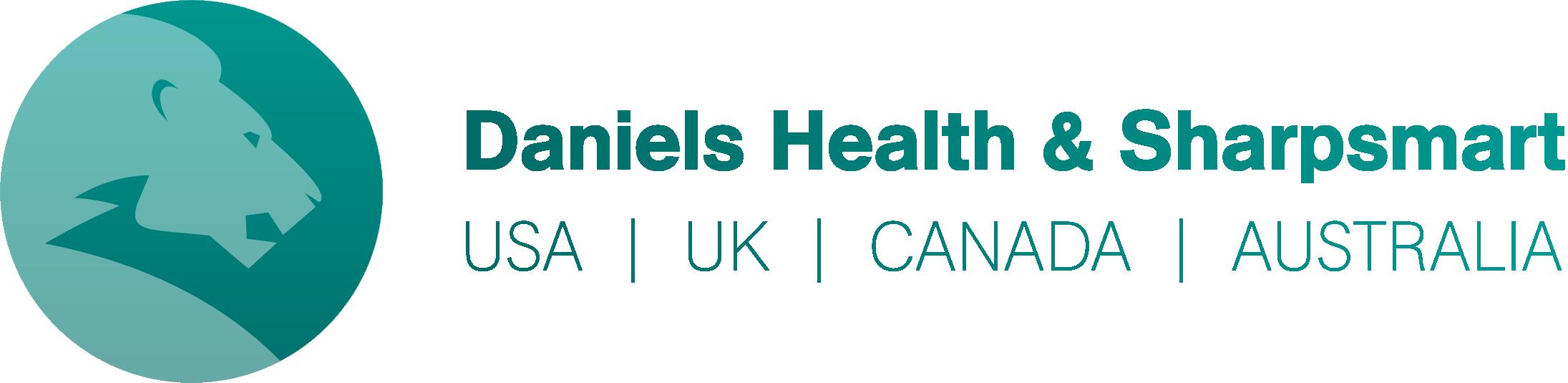 Daniels Health & Sharpsmart logo
