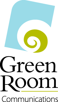 Green Room Communications logo