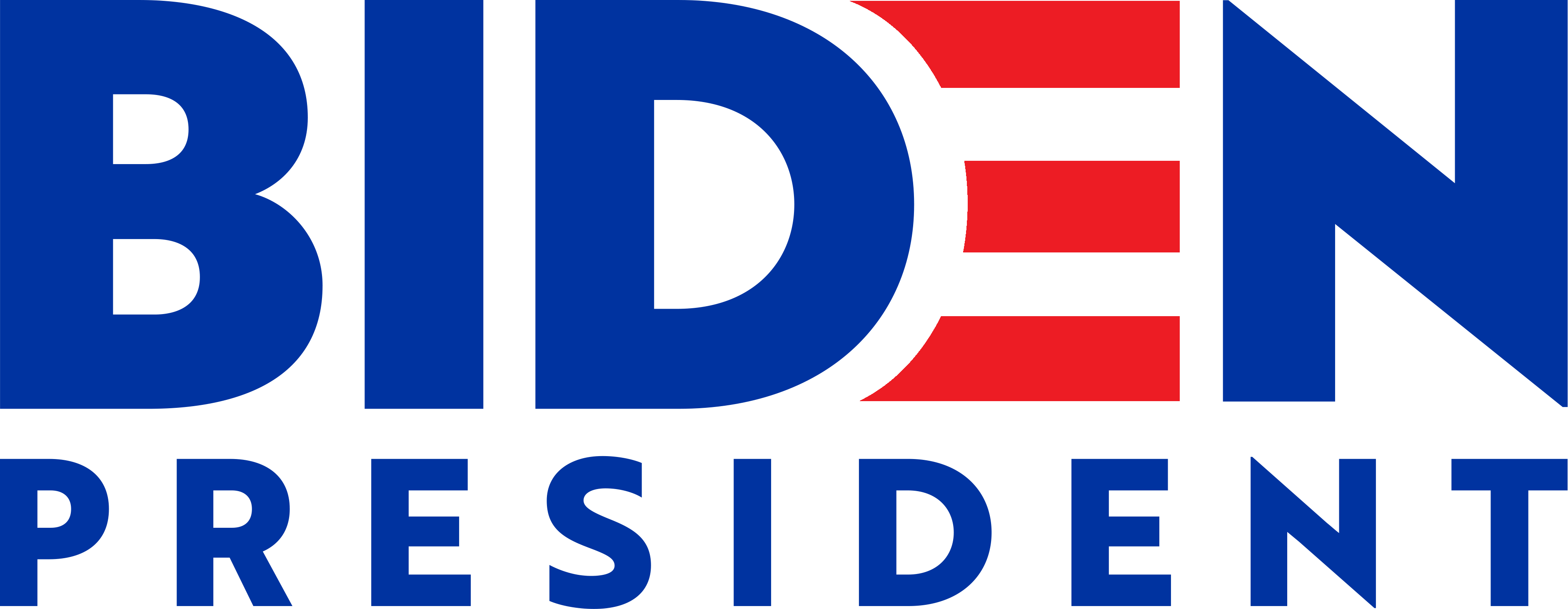 Biden for President logo