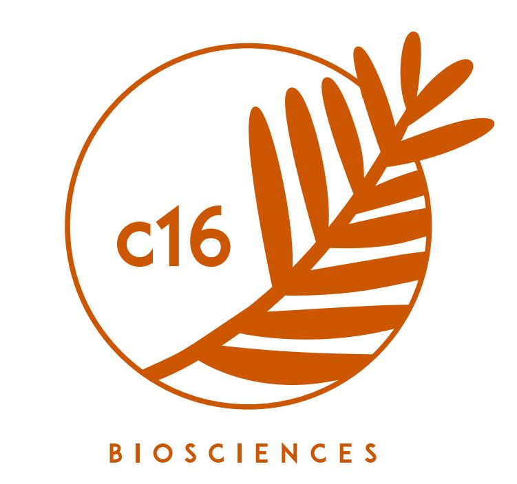 C16 Biosciences logo