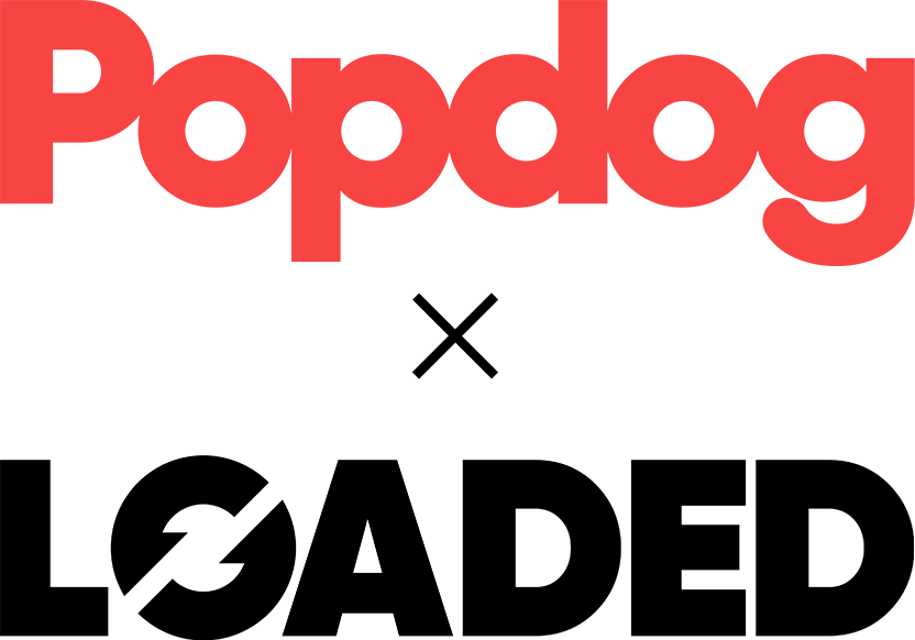 Popdog x Loaded logo